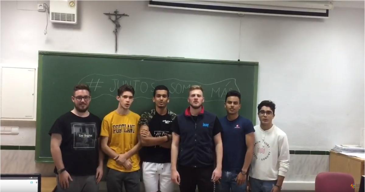 Somos Más- Colegio San José Artesano #DaleLaVuelta